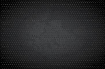 Dark metal background - vector illustration
