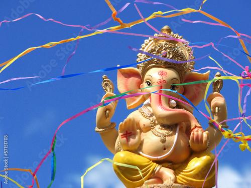 Foto op Canvas Olifant Ganesha - Ganesh