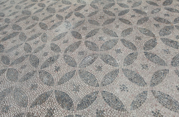 The Ancient Mosaic in Kibyra in Golhisar, Burdur.