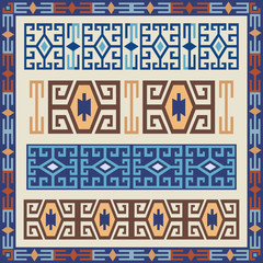 traditional geometric design elements