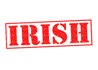 IRISH Rubber Stamp