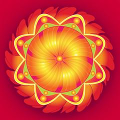 Mandala Floral Perfection