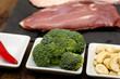 Broccoli und Cashew-Kerne