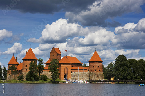 Castle, Trakai, Lithuania.