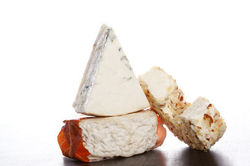 Luxurious cheese variation.