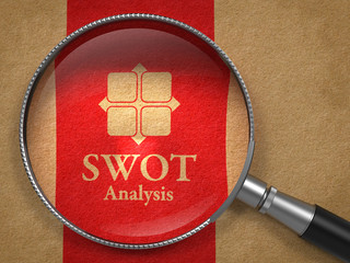 SWOT Analysis Concept.