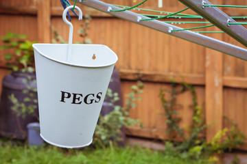 Pegs holder