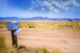 The mailbox in the desert.
