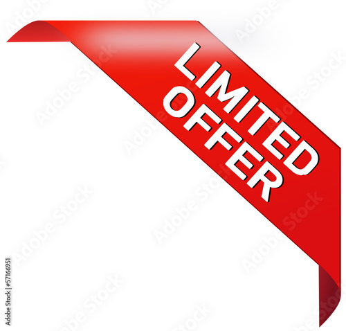 Limited Offer Banner  #131013-svg02