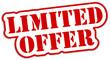 Limited Offer Sticker  #131013-svg03