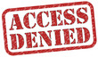 Access Denied Stempel  #131013-svg04