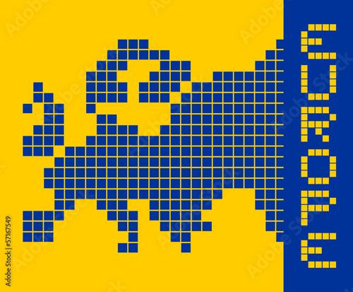 Europe pixel