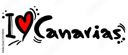 Canarias love