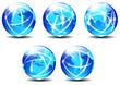 Technology World Global Communication Planet Data