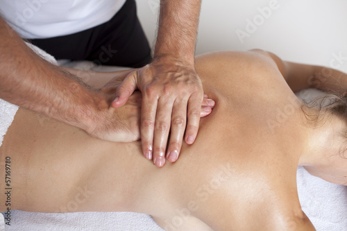 canvas print picture Osteopathie
