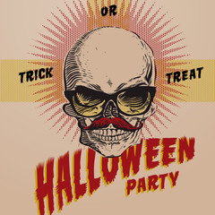 Halloween Party design template, vector Eps10 image.