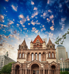 Beautiful architectural detail of Boston, MA