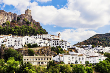Zahara de la Sierra, beautiful town located in Cadiz, Spain.