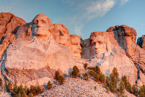 Poster Mount Rushmore National Monument