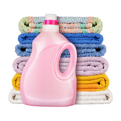 Detergent with towels