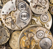 Gold Silver Precision Antique Vintage Pocket Watch Bodies Parts