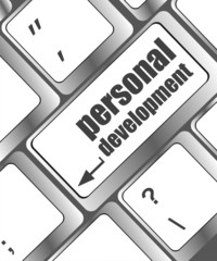 Keyboard with enter button personal development