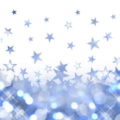 Fond bleu étoiles