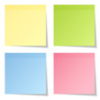 4 Stick Notes Mix Colors