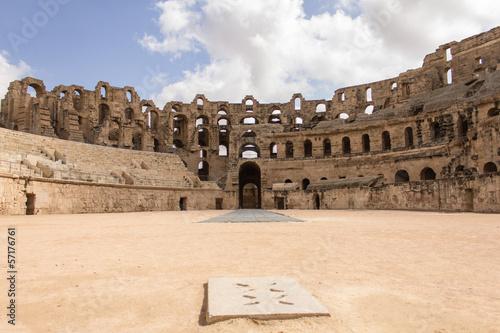 Fotobehang Tunesië Gladiator