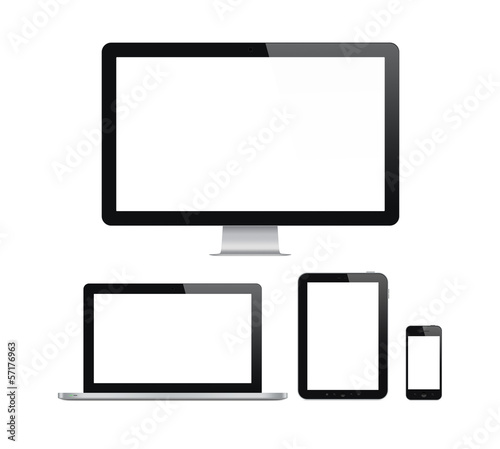 Modern computer and mobile devices set