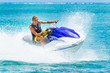 Young Man on Jet Ski - 57177138
