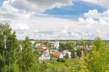 Torzhok, Tver region. View of the city