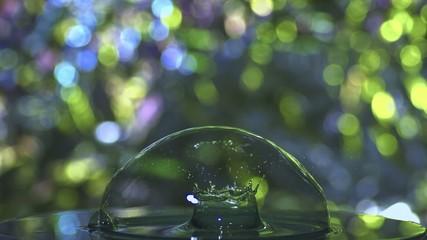 Wassertropfen slow motion