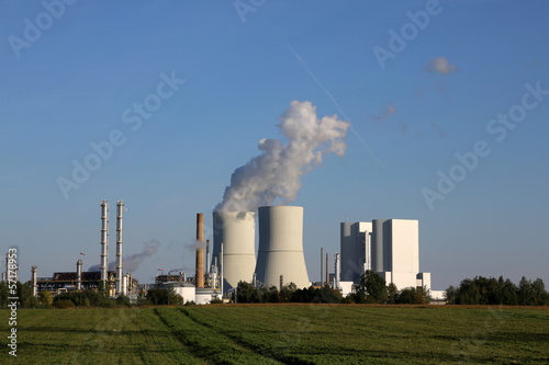 Leinwanddruck Bild Kraftwerk