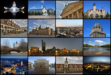 Leipzig Collage