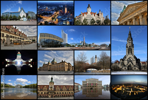 Leipzig - Collage
