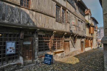 France, museum of old Honfleur in Normandy