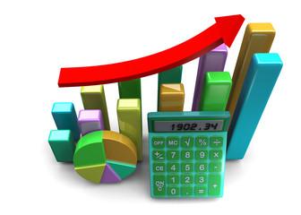 Finanzial Success Concept