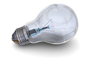 LIGHT BULB - 3D