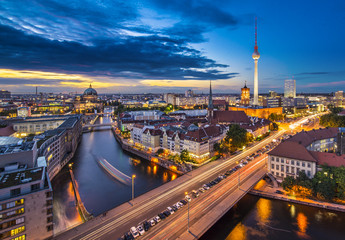 Berlin, Germany Cityscape
