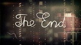 the end old movie animation alpha