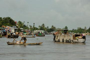 mekong delta - floating market