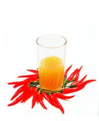 Chili and orange juice