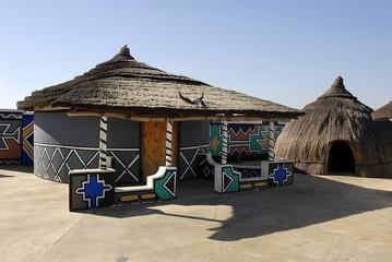 villaggio ndebele sudafrica