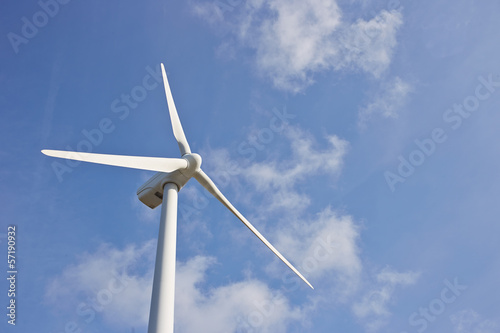 Single windmill for renewable electric energy production