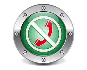 No calls button