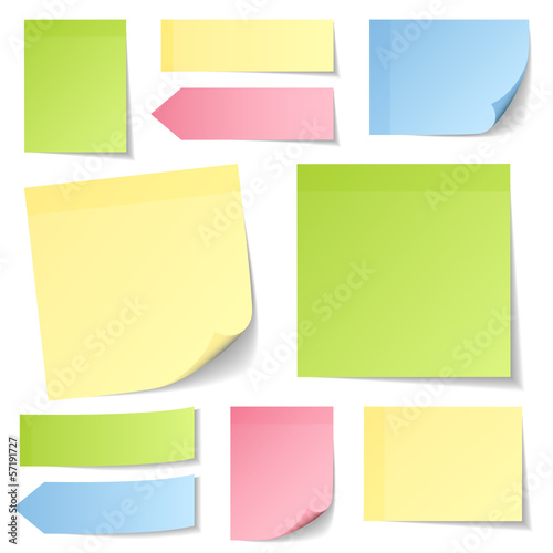 Collection Stick Notes Mix Color