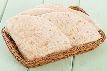 Chapatis - Traditional South Asian whole wheat flatbread.