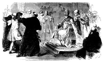 Church Scene : Bishop - 18th century