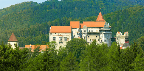 Gothic castle Pernstejn, Czech Republic
